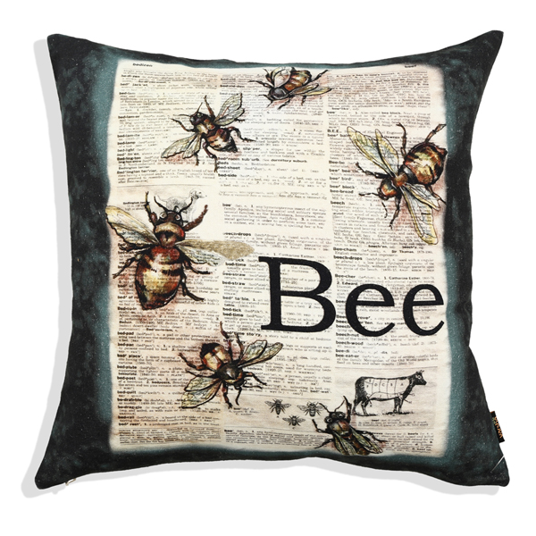 Buzzing Bees Cushion