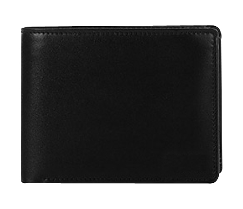 Leather Wallet: Cross Bar Trifold