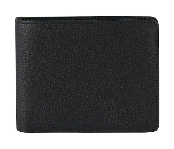 Leather Wallet: Cross Bar