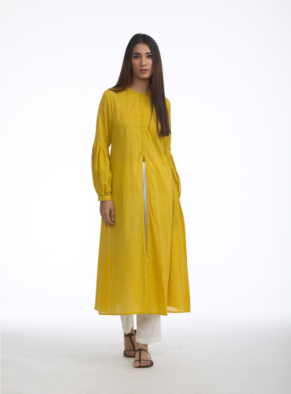 Jacket Kurta With Pants