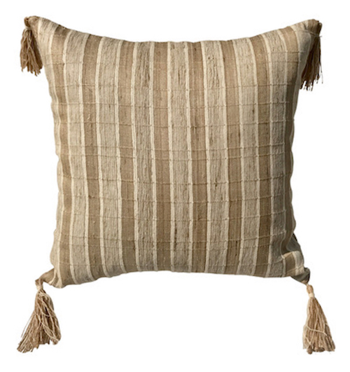 Khadhi Tussar Cushion