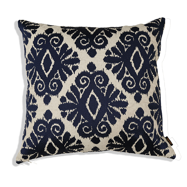 Dapper Ikat Cushion