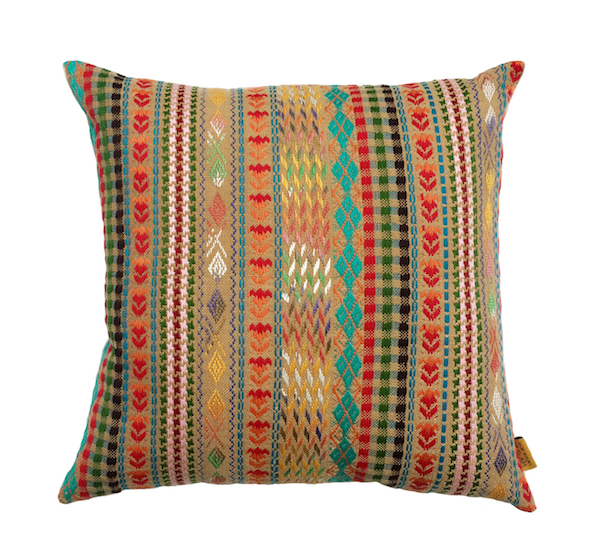 Radiant Hues Cushion