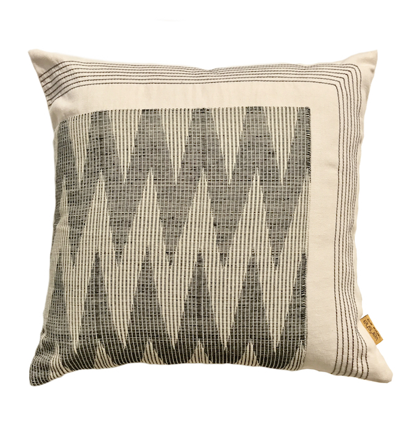 Stitched Chevron Cushion