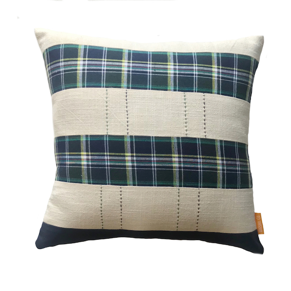 Tartan Tracks Cushion