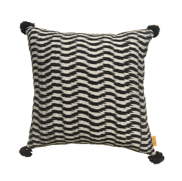 Wave Ikat Cushions